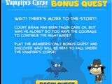Vampire's Curse Island Bonus Quest