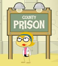 Countyprisonsign