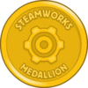 Steamworks Medallion