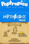 Poptropica Adventures Mythology map