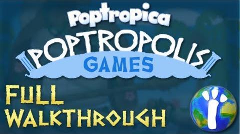 Poptropica Poptropolis Games Island Full Walkthrough
