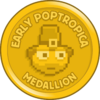 Early Poptropica Medallion