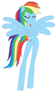Anthro Rainbow Dash