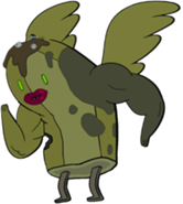 166px-Zombie Banana Guard with wings, lips, and muscles