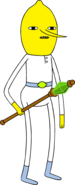 Lemongrab 2 in clothes with septer
