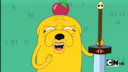 185px-S1e4 Jake with Apple on head-1-