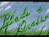 Miecz z traw