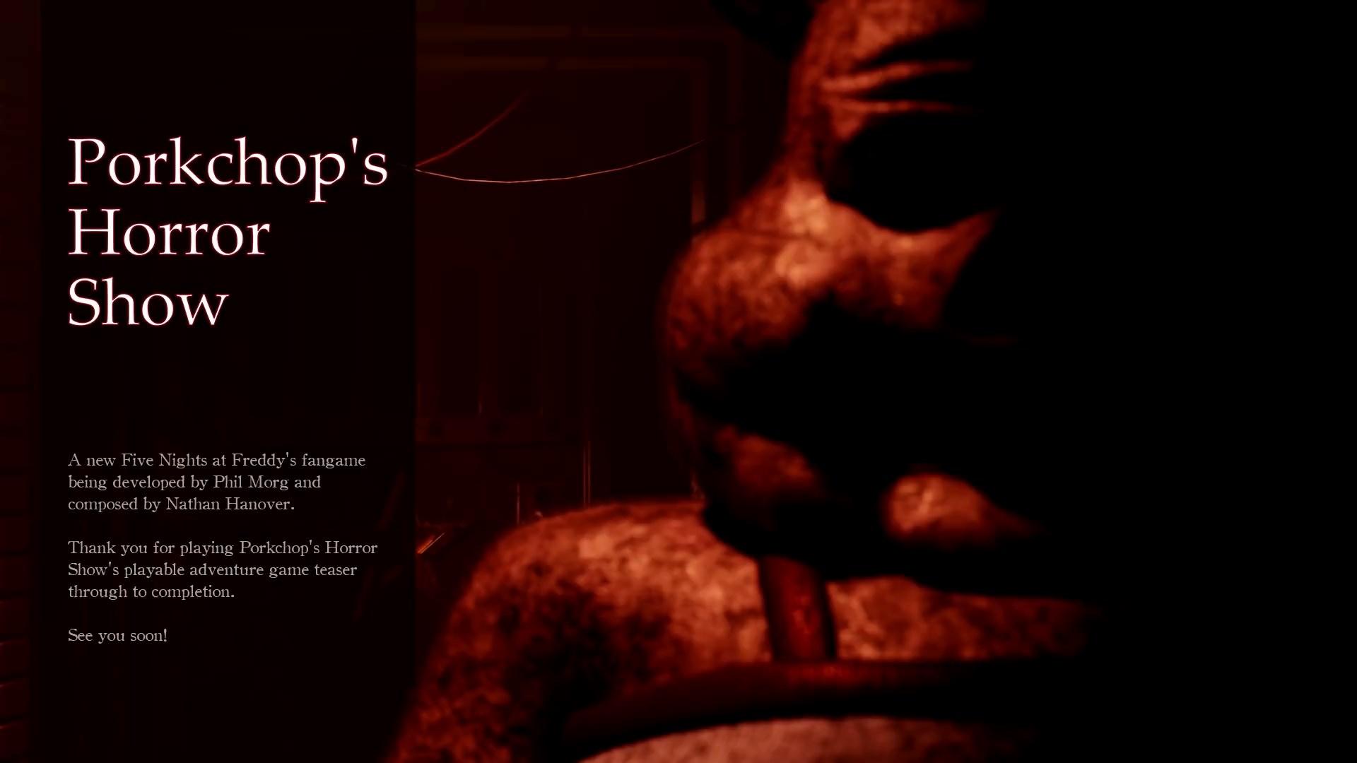Porkchop S Horror Show Game Porkchop S Adventure Wiki