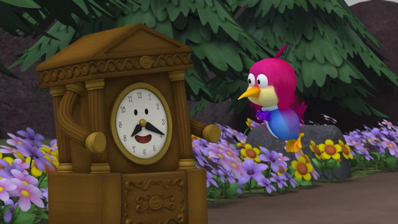 A Day With Wall Clock | Pororopedia | FANDOM powered by Wikia