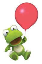 Crong with a Balloon