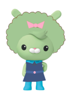Rabbit Carrot Tools Girl Hairstyle Afro