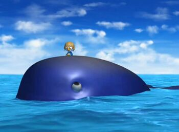 Pororo Meets with a Whale