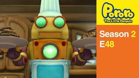 Pororo S2 48 Robot cook