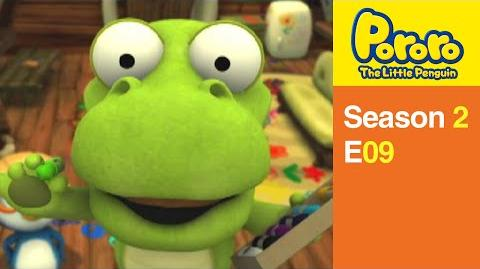 Pororo S2 09 Crong the Great Painter