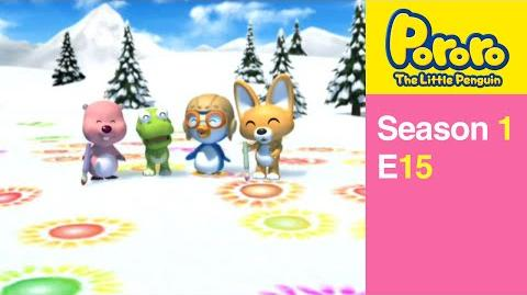 Pororo S1 15 Snow Canvas