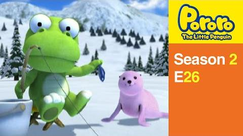 Pororo S2 26 Crong Meets with a Seal