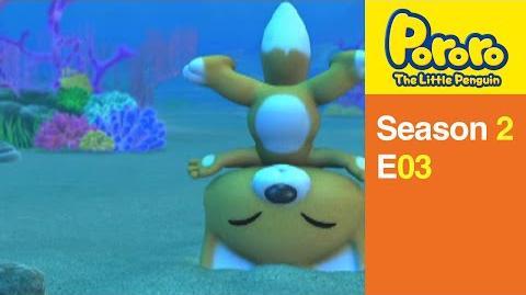 Pororo S2 03 Learning How to Swim
