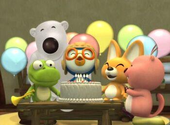 Pororo's Surprise Party!