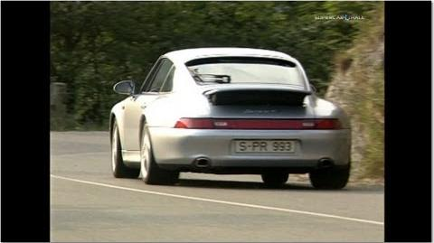 50 Years of Porsche 911 - 911 Type 993 - 1994-1998