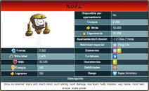 Wiki Monster Legends Infobox