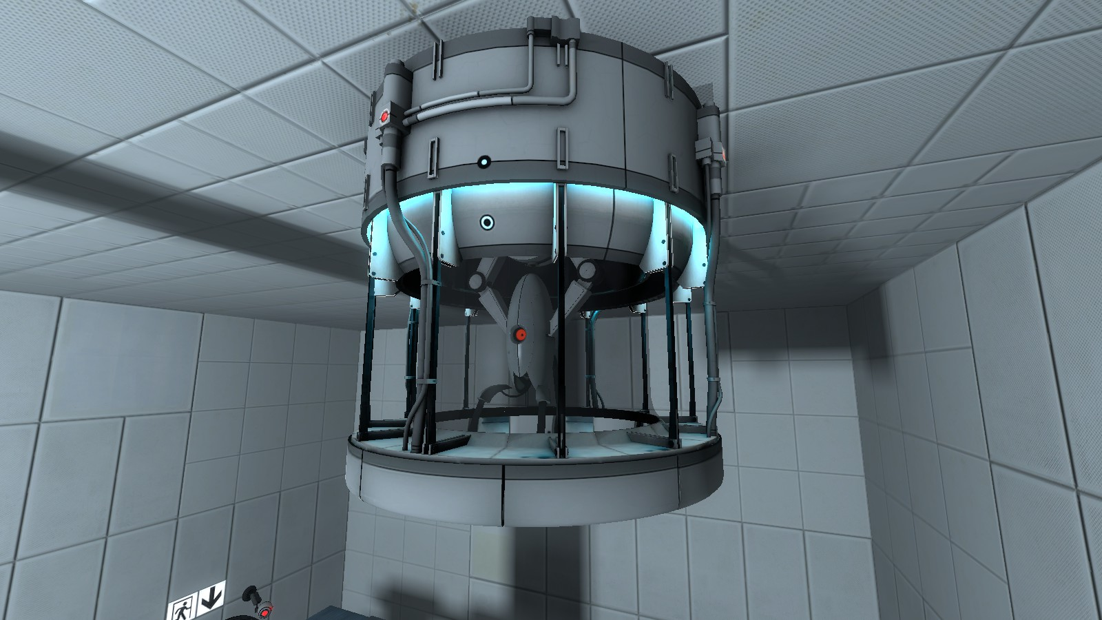 Turret Dropper | Portal 2 PTI Wiki | FANDOM powered by Wikia on the disease map, the drifter map, the glass map,