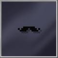 Black Handlebar Moustache
