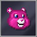 Pink Teddy Head