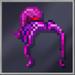 Purple Hightail Hair