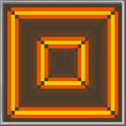 Orange Neon Background