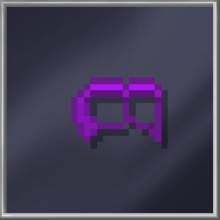 Purple Domino Mask