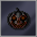 Black Pumpkin Lantern