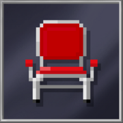 Red Metal Chair