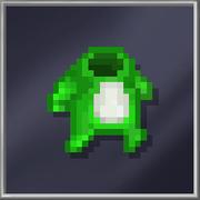 Green Bunny Suit