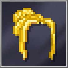 Long Golden Hair
