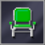 Green Metal Chair
