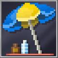 Blue Sun Umbrella