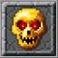 Golden Skull Block