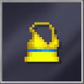 Yellow Skater Dress D-cut