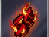 Flaming Shard