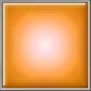Orange Glow Block