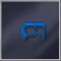 Blue Domino Mask