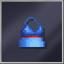 Long Blue Dress D-cut