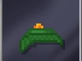 Green Wool Cap