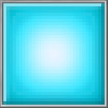 Blue Glow Block