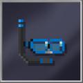 Blue Snorkel