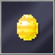 Yellow Royal Egg