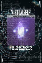 VIRTUAL SELF UTOPIA initial poster