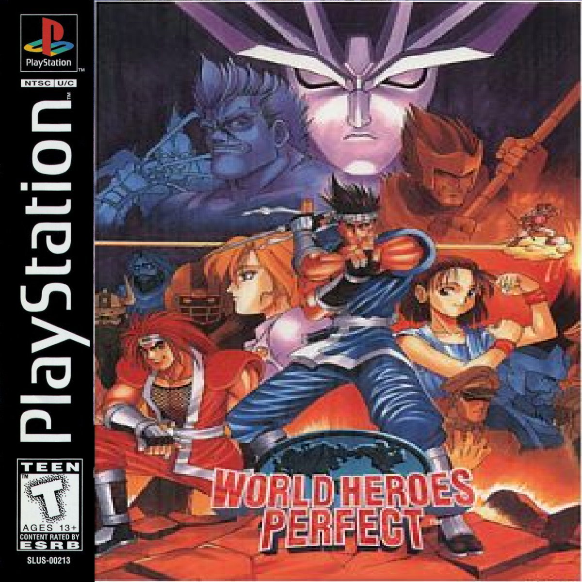 World Heroes Perfect for PlayStation 1 - Game Port Ideas ...