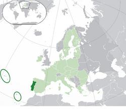 Location Portugal EU Europe