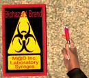 M@D Inc. Laboratory Syringes